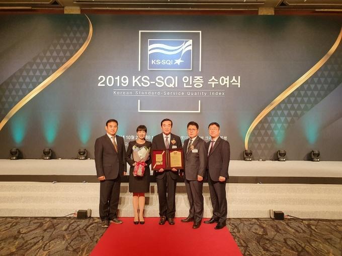 2019년 한국서비스품질지수(KS-SQI) 수여식