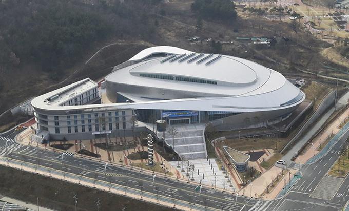 육상진흥센터 전경