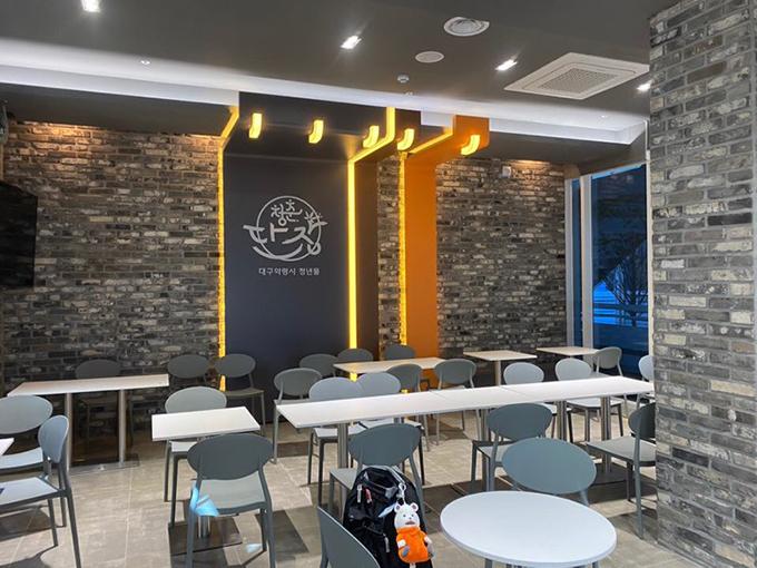 2층 음식점 매장